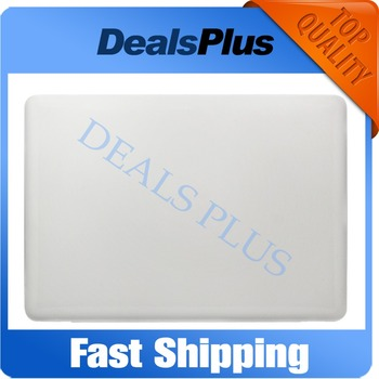 """Replacement 95% New For Macbook Unibody 13"""" A1342 MC207 MC516 2009 2010 LCD Back Cover Case"""