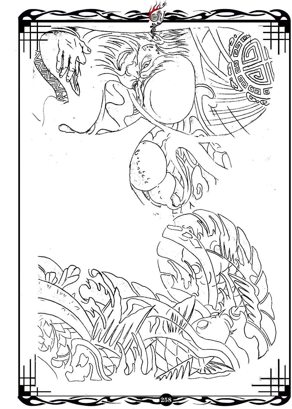 pdf format tattoo book traditional tattoo 49 pgs flower pattern kind of skull tattoo flash tattoo designs sketch free shipping in tattoo stencils from - Tattoo Coloring Book Pdf