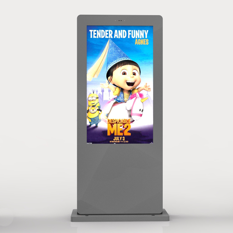 49 inch outdoor kiosk lcd advertising display digital signage water-proof IP65 free standing totem 65 inch touch screen windows i3 floor stand kiosk digital signage advertisement player for photo booth totem