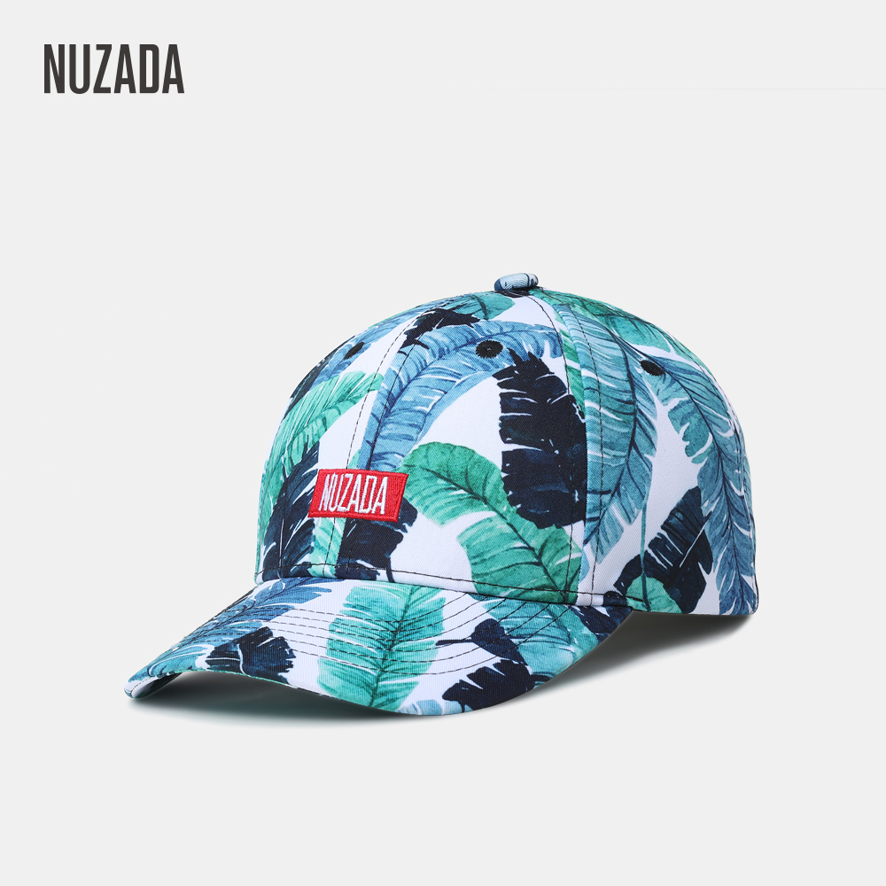 NUZADA Original 3D Printing Snapback Women Men Couple Neutral   Baseball     Cap   High Quality Cotton Polyester Blend Hat Bone   Caps