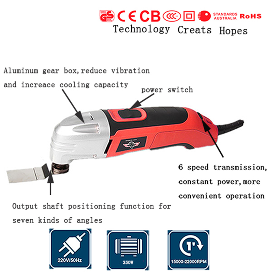 electric Trimmer 350w multi master oscillating tools oscillating tools saw blade ,wood working tool цена