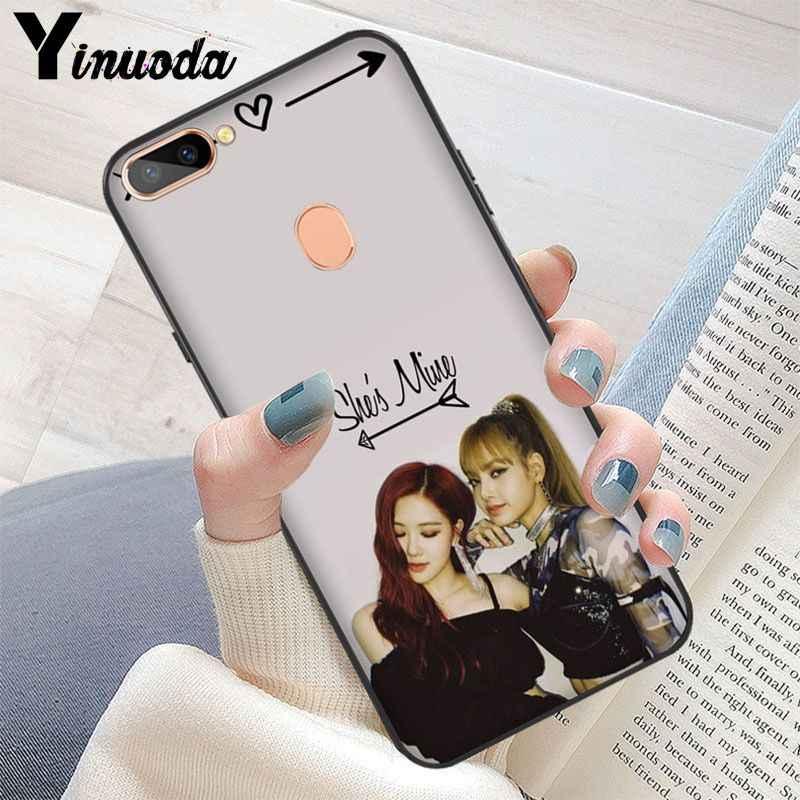 Yinuoda BLACKPINK ROSE Kpop Pattern TPU Soft Phone Cell Phone Case for OPPO R11S Plus R11S.jpg q50