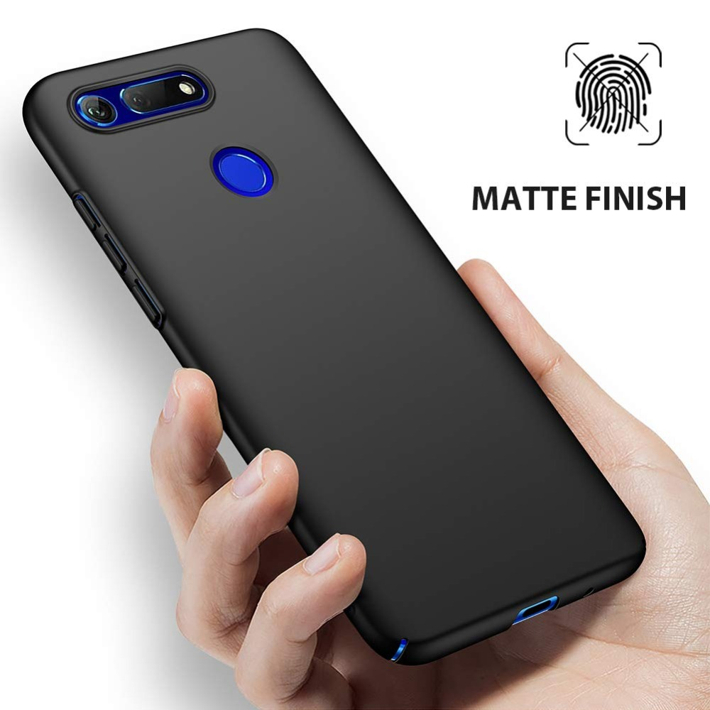 Back Cover For Huawei Honor View 20 Nicotd Case Full Protection Hard PC Matte Phone Cases For Honor View20 View 20 6 4 inch in Phone Bumpers from Cellphones Telecommunications