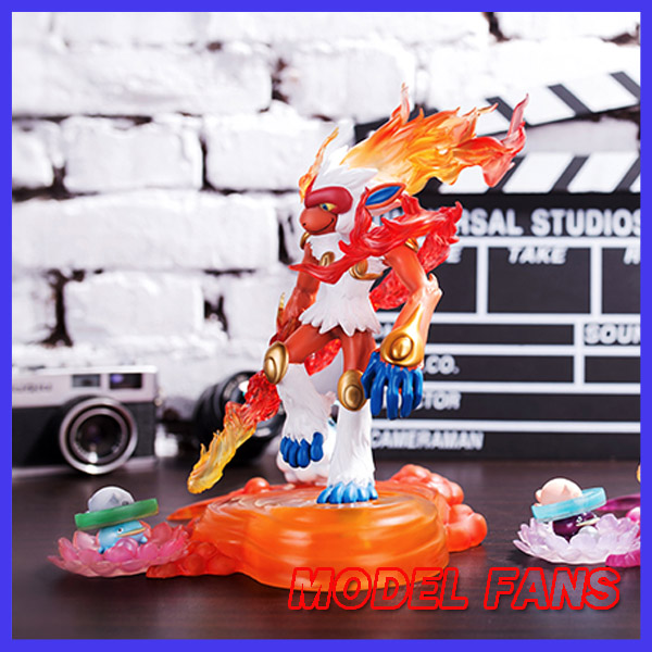 MODEL FANS IN-STOCK MTO 20cm Pocket Monsters Infernape summer GK resin made toy figure for Collection model fans in stock the same paragraph tsume 50cm fist of the north star lao gk resin made for collection