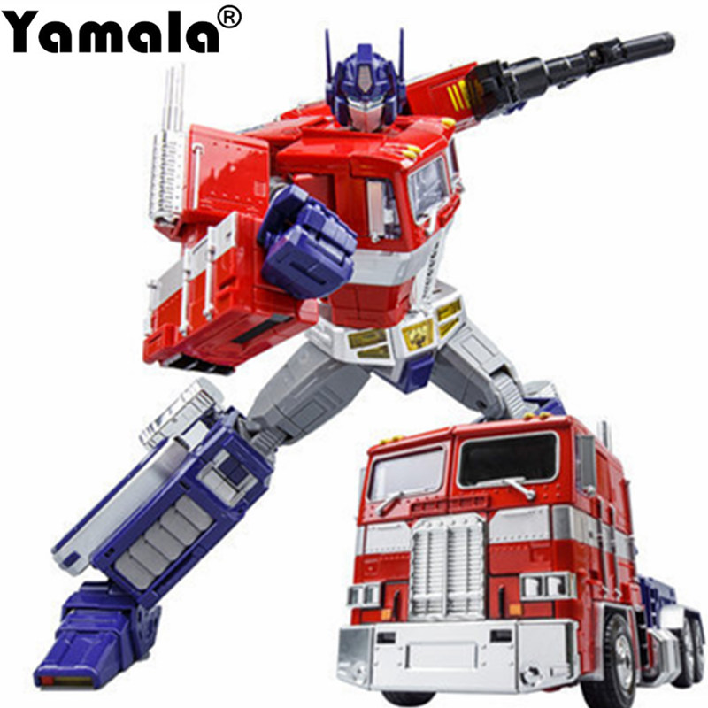 [Yamala] MPP10 Alloy Transformation Figure Trailer Truck Container Commander Master Piece Diecast Oversized robot gift for child 1 14 tamiya semi container trailer