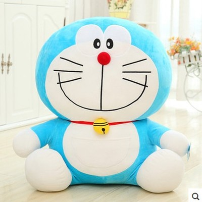 anime cartoon Doraemon cat doll large 65 cm toy cat plush toy hugging pillow , birthday gift x123