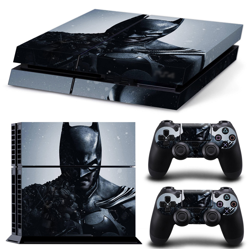 DC Batman PS4 Pro Skin Sticker Decal For Sony PS4