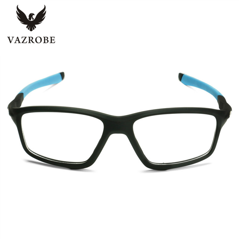 vazrobe tr90 fashion style eye glasses frame for men women branded eyeglasses frames male driving eye