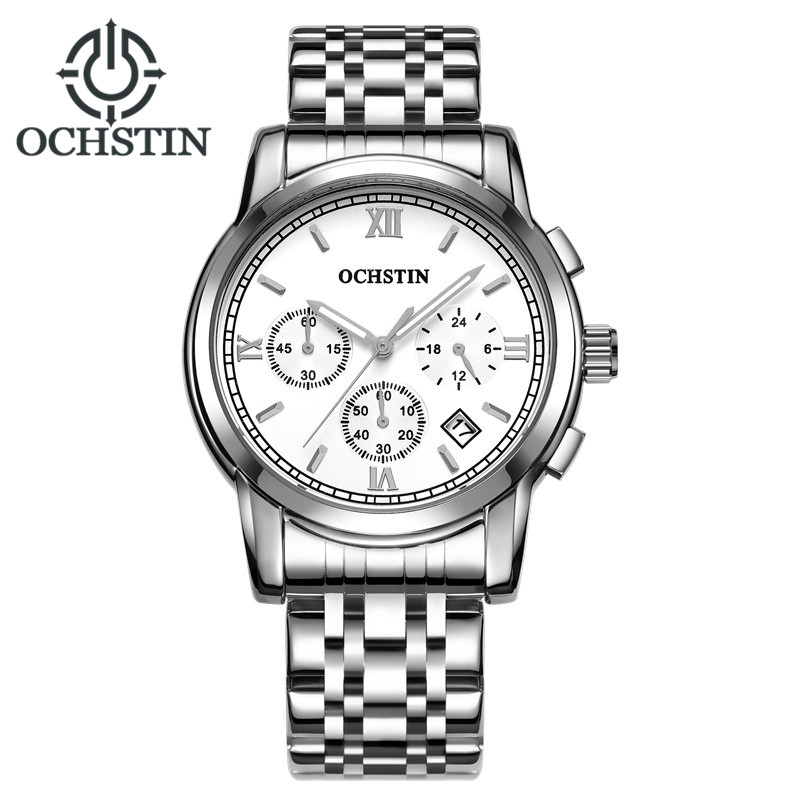 Original OCHSTIN Watch Men Top Brand Luxury Quartz Military Watches Dress Wristwatch Mens Fashion Clock Hours Relogio Masculino top brand sport men wristwatch male geneva watch luxury silicone watchband military watches mens quartz watch hours clock montre