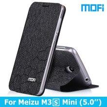 Meizu m3s Case Stand holder TPU soft cover 5.0″ case Original Mofi brand Flip Leather Case For Meizu M3S mini phone case