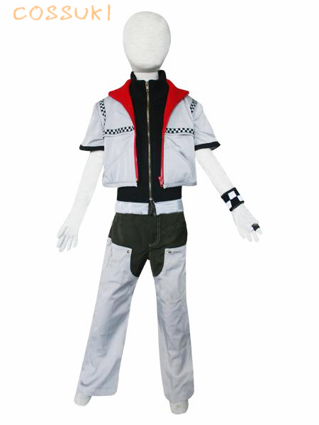 Kingdom Hearts 2 Roxas Kids Uniform Cosplay Costume ,Perfect Custom For You !