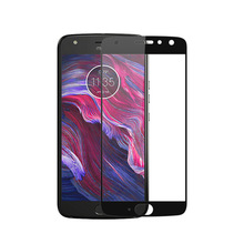 Full Cover Tempered Glass For Motorola Moto X4 MotoX4 X 2017 Screen Pr