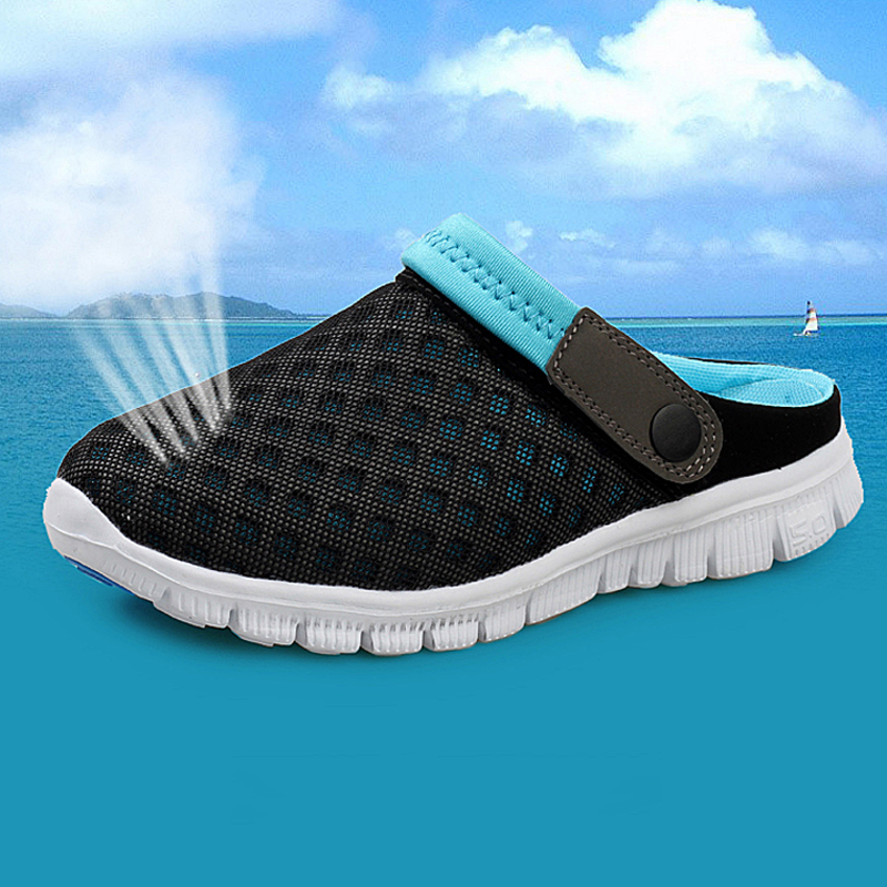 New Brand Men Women Beach Shoes 2015 Summer Fashion Mesh breathable - Kasut lelaki - Foto 4