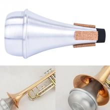 Mute for Trumpet Reduce Sound Accessories for Beginner Straight Universal Practice Silencer Trumpet Mute For Jazz Instrument william plastic mute for trumpet black