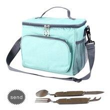 Взрослых сумка с охладителем сумка женская утепленная Еда Пикник охлаждающий мешок большой Портативный рюкзак lunchboxes для мальчиков мужские