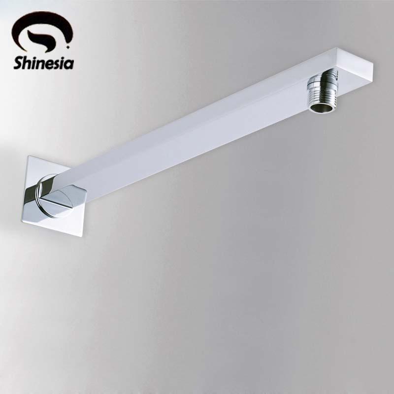 Kreativ Badezimmer Wand Montiert Dusche Arm 37 Cm Für Dusche Kopf Chrom Messing