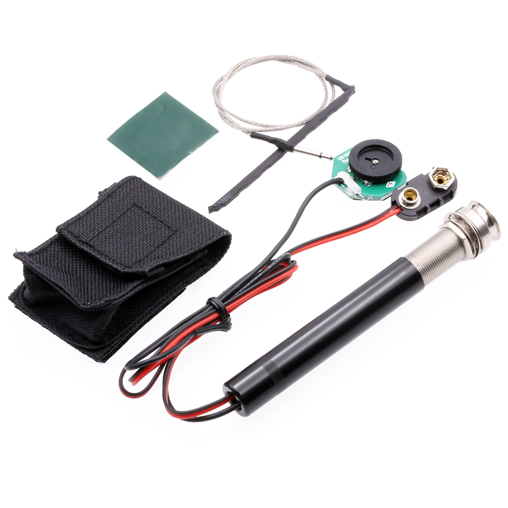 ROCKET Acoustic Guitar 6.35 mm Piezo Pickup Volume Control Pick-up System Classic Guitar +Free Shipping