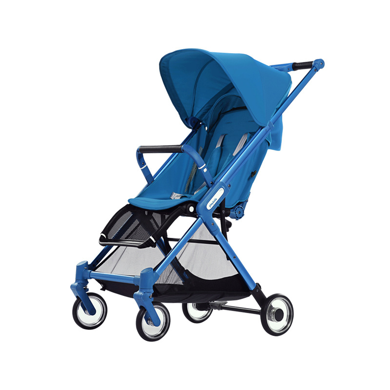 Lightweight baby stroller fashion baby trolley can sit can lie folding portable pocket umbrella car hot mummy bike stroller cute baby bicycle prams folding umbrella car can sit can lie trolley red color dhl 3 5 days shipping