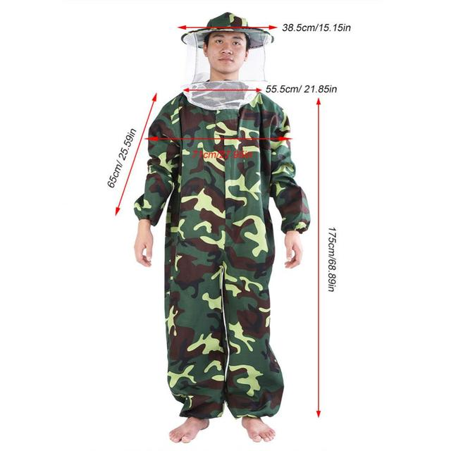 Professional Beekeeping Protective Suit Beekeeping Beekeeper Protect Equipment Safety Clothing Beekeeper Bee Suit