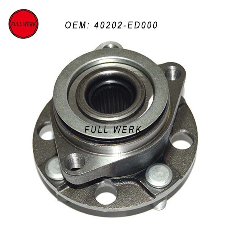1pc Front Wheel Hub Bearing OEM 40202-ED000 fit for Nissan Tida C11 2005-2012 auto spare parts front wheel hub bearing fit for bmw m5 513219 3885a016 free shipping
