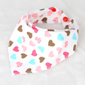 100% Cotton Newborn Baby Bibs Cartoon Preminum Girls And Boys Bibs Burp Cloth Infant Bibs