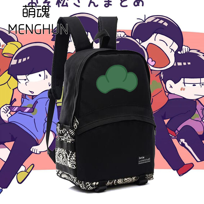d5aeb09941db Love new anime backpack osomatsu san backpack black high capacity nylon  backpack osomatsu backpack anime gift school bags nb201