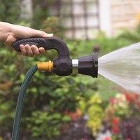 Sprinkler Pistola Irrigazione Mighty Blaster Getto D'acqua Tubo di Metallo Ugello di Spruzzo Giardino Pistola Ad Acqua di Lavaggio Strumento di Pulizia del Sistema