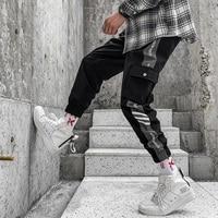 2019 hip hop men fashion pantalones hombre kpop casual cargo pants skinny sweatpants joggers modis streetwear trousers harajuku