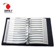 0805 5% SMD Φ Book 1/8W 0R 10M 170valuesx25 шт. = 4250 шт. комплект резисторов 0R ~ 10M 0R 1R 10M