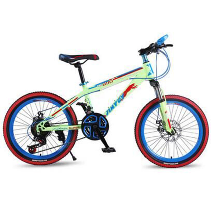 Children's Bicycle Children Go To School By Portable Bicycle Steel Material Full Shockingproof Fram