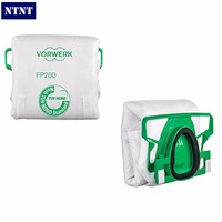 NTNT Free Shipping New Genuine 6 Pcs Lot Vacuum Cleaner Bags Dust Bag For Vorwerk VK200