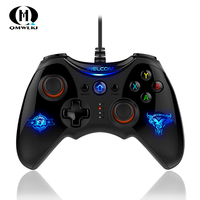 PS 3 Game Controller Joystick Suitable for Android phone Console Gamepad Breathing light Double vibration Fit for PC Gamepad