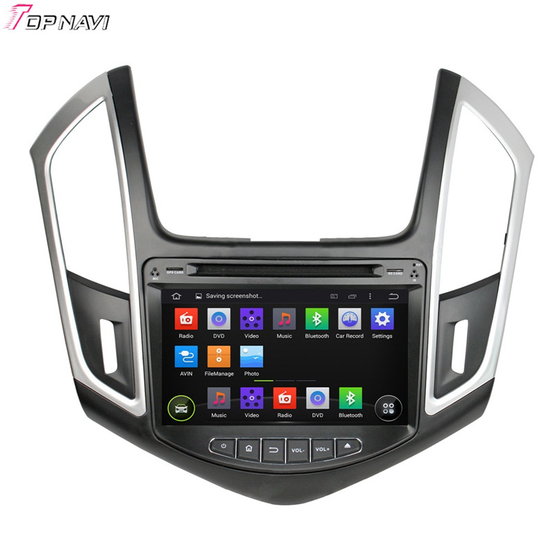 Quad Core Android 4.4.4 Car Dvd Player For CRUZE 2015 With Quad Core 16Gb Flash Mirror Link Wifi BT GPS Canbus Map