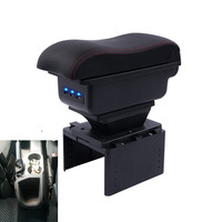 For FORD FOCUS C MAX armrest box central Store content Storage box Seat armrest box with cup holder ashtrayinterface car parts