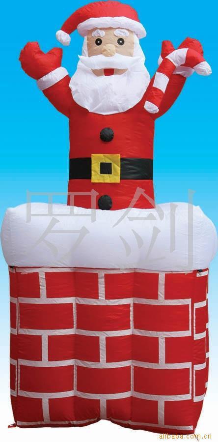 Décorations gonflables gonflables de beaux produits gonflables de noël, décorations joyeuses gonflables - 4