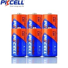 Batería PKCELL C LR14 AM2 CMN1400 E93 Super alcalina, 1,5 v, para Detector de humo, luces LED, afeitadora inalámbrica, 6 uds.
