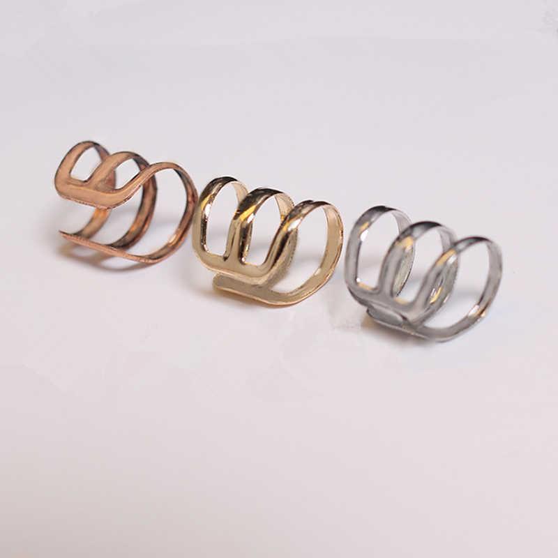 Hot Brincos คลิปต่างหู Boucle d'oreille Bijoux Pear EAR Cuff ต่างหูสำหรับงานแต่งงานต่างหูผู้หญิงเครื่องประดับขายส่ง