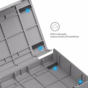 Image 3 - Orico אפור 3.5 אינץ HDD הגנת תיבת (5 יח\חבילה) דיסק קשיח תג מקרה עם אקו PP חומר הגנה על דיסק כונן מקרה