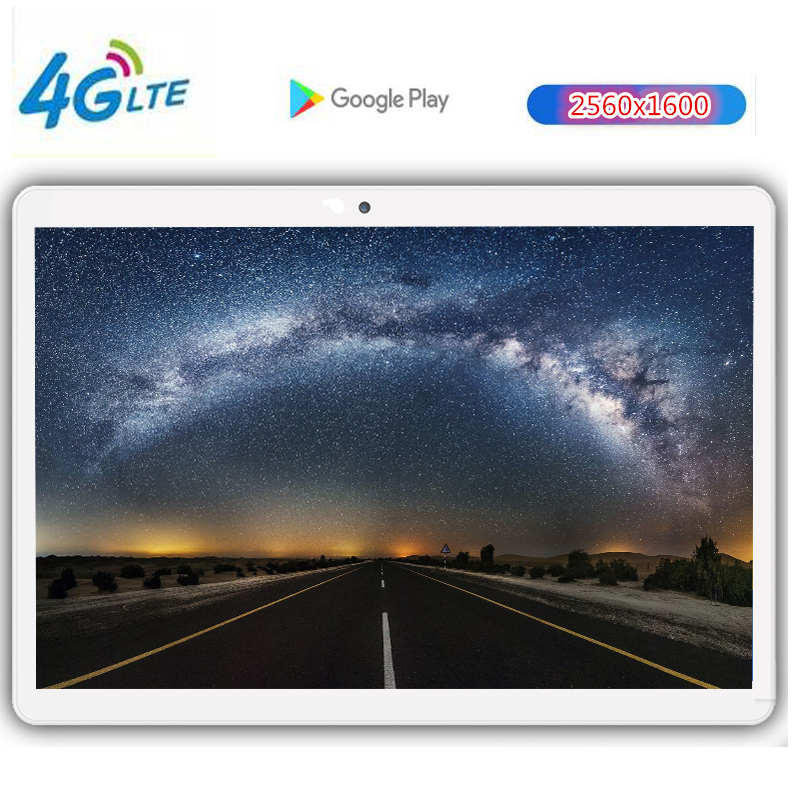 New CP7 Google Android 8.0 Smart Tablet Pcs Android The Tablet 10.1 Inch 10 Core Tablet Computer Ram 4GB Rom 128GB 2560X1600 8MP