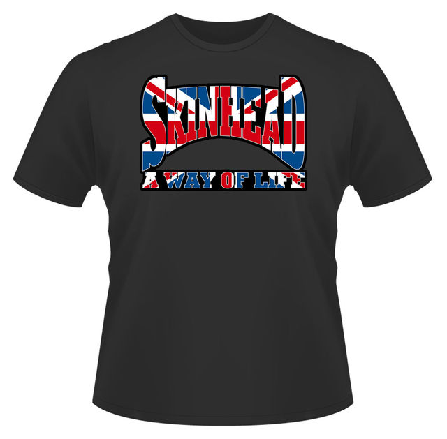 Mens T Shirt Skinhead Union Jack Ideal Birthday Gift Or Present New Shirts Funny Tops Tee Unisex