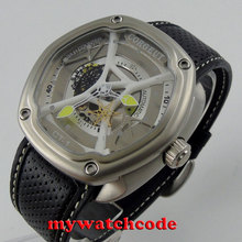 45mm corgeut white dial three-dimensional dial miyota Automatic mens Watch