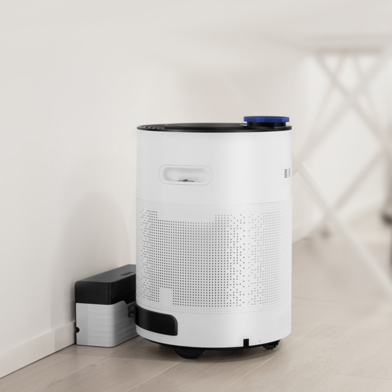 Intelligent Household Air Purifier Automatic Rechargeable Robot Air Oxygen Cleaner Purifiers Formaldehyde/Dust/Smoke Removal household bedroom air purifier remove pm2 5 air refesher air cleaning oxygen bar formaldehyde removal ap gundam