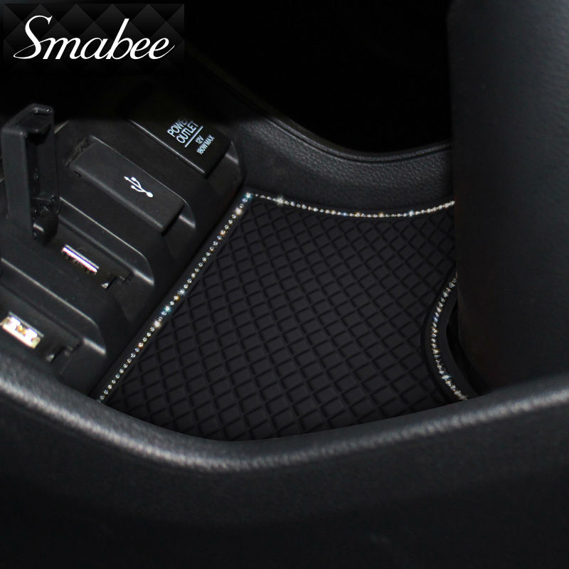 Smabee Gate slot pad Mat Para 2014-2016 Honda fit Automotive interior - Accesorios de interior de coche - foto 6
