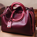 2016 High Quality pillow Shape Women Bags Fashion Genuine Leather Shoulder Bag New Arrive Women handbag Hot Selling Leather Bags
