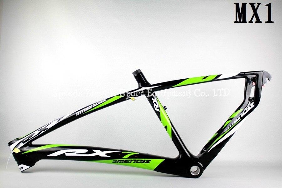Bonito Fibra De Carbono Cuadro De La Bicicleta De Montaña ...