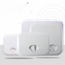 ABS White Deck Marine Hatch Deck Anti Aging Ultraviolet FRP boat porthole open box cover storage box cover hatch Boat accessorie