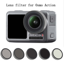 купить Lens Filter Lens Protector MCUV CPL STAR ND4 ND8 ND16 ND32 Film For DJI Osmo Action Handheld Gimbal Sports Camera Accessories по цене 540.52 рублей