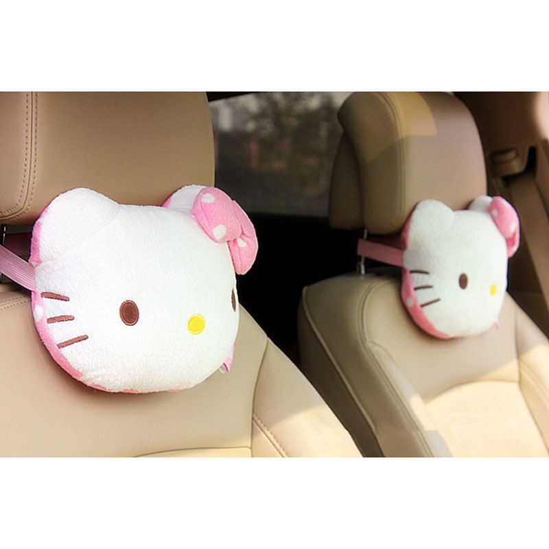 Hello Kitty Car Seat Pillow