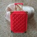 Factory Direct New Mini Quilted Evening Bags Women Acrylic +PU Handbags Mini Lock Hard Box Clutch Crossbody Shoulder Bag bolsas