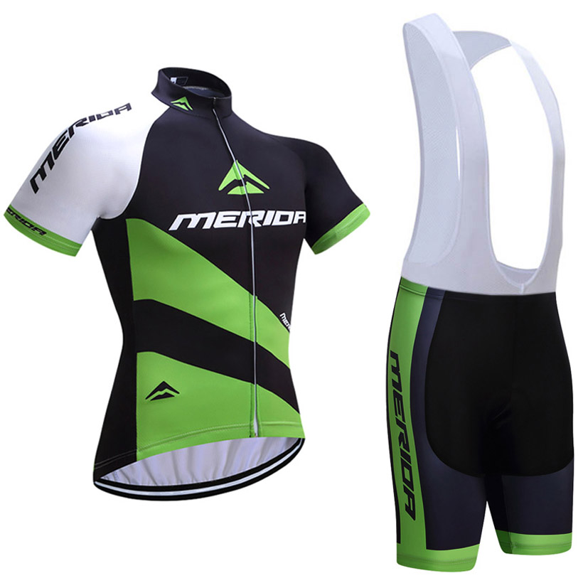 661fef11c 2018 team Merida Cycling Clothing Bike jersey Quick Dry Mens Bicycle  clothes short sleeves sky Cycling Jerseys gel bike shorts-in Cycling Sets  from Sports ...